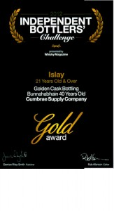 The-Golden-Cask-Bunnahabhain-1972-40-ans-gold award