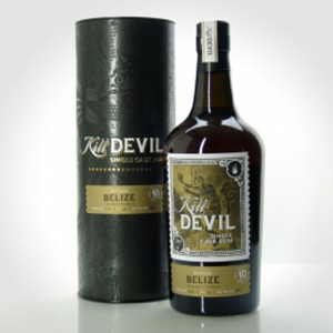 Kill-Devil-Belize-Travellerd-distillery-10-yo-bottle
